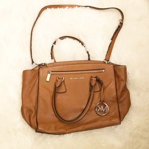 Michael Kors Leather Bag - Great used condition